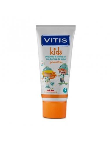 Vitis Kids Gel Sabor Cereza 50 ml