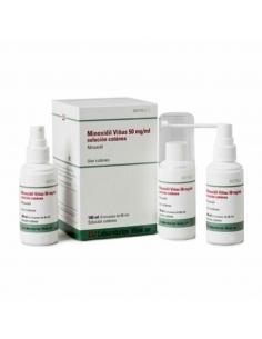 Minoxidil Viñas 5 % Solución 3x60ml