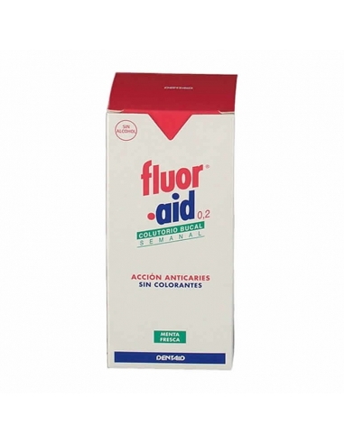 Dentaid Fluor Aid 0.2% Colutorio 150ml