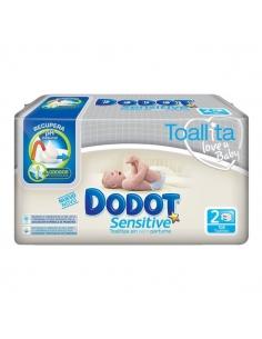 Dodot Sensitive Recambio Toallitas 108 uds