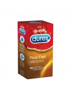 Durex Real Feel Profilácticos Sin Latex 12uds