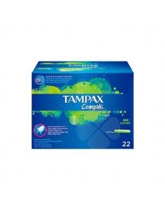 Tampax Tampón Compak Super 22uds