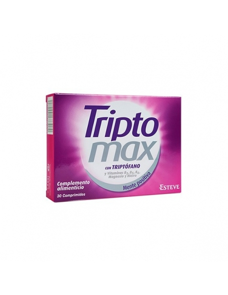 Triptomax Tritófano 30 Comprimidos