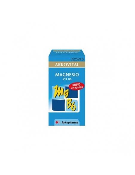 Arkovital Magnesio Vitamina B6 30 Cápsulas
